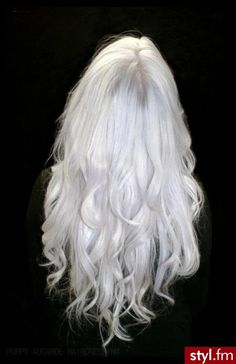 don't know about me with white hair, but I LOVE the style