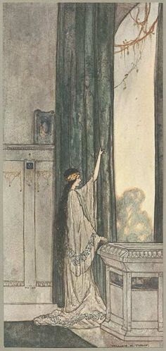 The Ship That Sailed to Mars by William Timlin. Subtle and pretty
