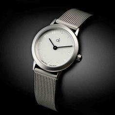 Calvin_Klein's_Elegant_Steel_Strap_Watch_Women's- Php759