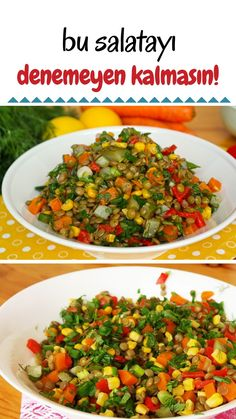 Yeşil Mercimek Salatası (videolu) – Nefis Yemek Tarifleri – Green Lentil Salad (with video) How to make a recipe? Illustrated explanation of this recipe in the book of 791 people and photos of those who try it are here. Yummy Recipes, Salad Recipes, Yummy Food, Lentil Recipes, Vegetarian Recipes, Green Lentil Salad, Green Lentils, Turkish Recipes, Ethnic Recipes