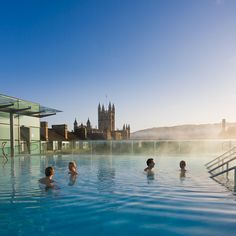 Thermae Bath Spa, Bath, UK. Beautiful!! Rooftop-2011.jpg