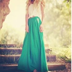 maxi skirt by esmeralda