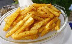 Zapékané hranolky z celeru