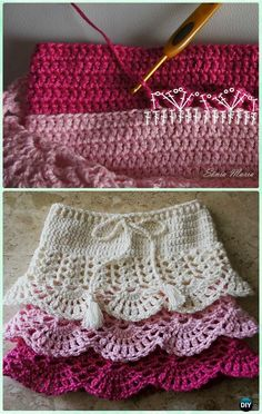 Crochet Layered Shell Stitch Skirt Free Pattern [Video]- Crochet Girls Skirt Free Patterns # free crochet patterns for baby hats Crochet Girl's Skirt Free Patterns Skirt Pattern Free, Crochet Skirt Pattern, Crochet Skirts, Easy Crochet Patterns, Baby Knitting Patterns, Baby Patterns, Free Pattern, Sewing Patterns, Skirt Patterns