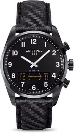 Certina Watch DS Multi-8 Quartz #alarm-yes #bezel-fixed #bracelet-strap-textile #brand-certina #case-material-steel #case-width-42mm #classic #date-yes #delivery-timescale-7-10-days #dial-colour-black #gender-mens #gmt-yes #movement-quartz-battery #official-stockist-for-certina-watches #packaging-certina-watch-packaging #style-dress #subcat-ds-multi-8 #supplier-model-no-c020-419-16-052-00 #warranty-certina-official-2-year-guarantee #water-resistant-100m
