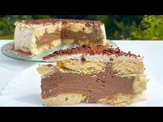 Desert pe care nu l-ai incercat inca !!! Aceasta este divină! 🤤👌👌 Rețetele lui Katrine - YouTube Cheesecakes, Tiramisu, Chocolate, Dolce, No Bake Cake, Family Meals, Nutella, Ethnic Recipes, Youtube