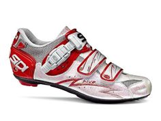 I'm such a sucker for siren red on cycling shoes. Sidi Five Womens Road