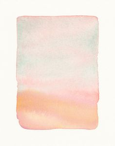 pastel watercolor // artwork by Malissa Ryder
