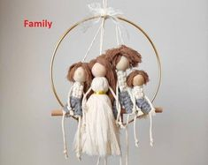Doll House Plans, Project Free, Macrame Design, Macrame Projects, Doll Tutorial, Macrame Patterns, Amigurumi Doll, Dream Catcher, Weaving