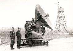 Vejprnice, radiolokátor Telefunken FuMG 65 W-R německé armády.