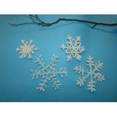#Schneeflocke basteln | Wunderschöne Schneeflocken für die Weihnachtsdeko selber basteln, Anleitung: http://www.trendmarkt24.de/bastelideen.schneeflocke-basteln.html#p