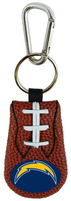 San Diego Chargers Classic Football Keychain