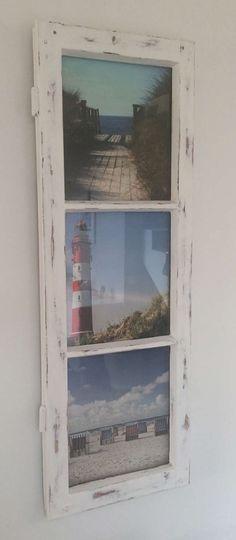 Bilderrahmen aus Sprossenfenster