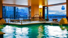 Hotel Madeline Telluride ( Telluride, Colorado ) Unwind in the indoor pool or welcoming jacuzzi, both with scenic mountain views. Beautiful Places To Visit, Hotels And Resorts, Luxury Resorts, Vacation Spots, Dream Vacations, Resort Spa, Telluride Colorado, Telluride Lodging, Colorado Trip