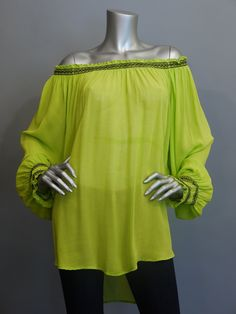 XCVI Dolman Off The Shoulder Algonquin Top.