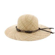 Chapeau Paille Clara Naturel Herman Headwear #mode #chapeau #femme #été sur www.hatshowroom.com