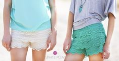 *HOT* Lace Shorts! 9 Colors! #Jane | Closet of Free Samples | Get FREE Samples by Mail | Free Stuff