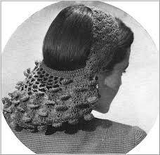 Resultado de imagen para сеточка для волос крючком
