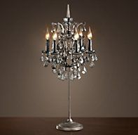 All the intricacy of a chandelier with the simplicity of a table vintage crystal table lamp classic candle desk light led cristal table lighting for home hotel restaurant living and dining room aloadofball Choice Image