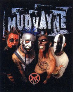 33 best Mudvayne! (mostly Chad) images on Pinterest