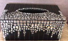 Mosaic tissue box