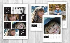 ◆Printable 2018 photo calendar, Custom personal wall calendar, 2018 Family stocking stuffer, Digital desk calendar for woman◆  A beautiful Personalized Calendar available in 2 sizes, A4 and Letter. This calendar is custom made with your pictures in it! A digital printable calendar that can easily be printed at home or at any (online) copy shop. Perfect as a (last minute) gift, stocking stuffer or any personal gift. ◆WHAT DO YOU GET? - A custom made printable calendar in A4 or Letter size in…