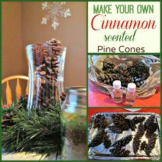 How To Make Your Own Cinnamon Scented Pine Cones Cheap
