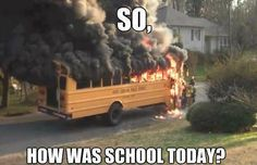There goes the magical school bus