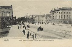 Berlin, Palais Kaiser Wilhelm I. - Unter den Linden - Universität