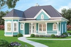 Vacation or City Home - 31088D | 1st Floor Master Suite, CAD Available, Den-Office-Library-Study, Farmhouse, PDF, Photo Gallery, Victorian | Architectural Designs