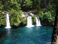 Ojos del Caburga, Pucon region de la Araucania Andes Mountains, What A Wonderful World, Wonders Of The World, South America, The Good Place, Places To Go, Waterfall, Beautiful Pictures, Patagonia