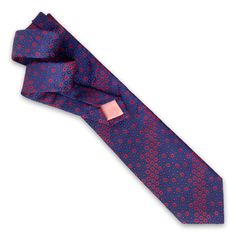 The Ellis Flower is a classic woven tie that features a diagonal stripe flower design in bold colours. Best when paired with one of our plain shirts. 146 cm total length 8 cm width silk WAS: 295 NOW: Bold Colors, Colours, Tie Rack, Thomas Pink, Pink Ties, Plain Shirts, International Fashion, Flower Designs, Silk
