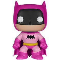 Batman 75th Anniversary Pink Rainbow Batman Pop Vinyl Figure $12.99