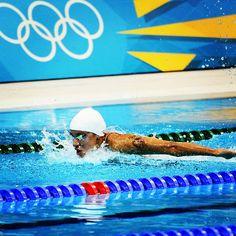 Joana Maranhão na semifinal. TERRA, A OLÍMPIADA COMO VC NUNCA VIU #TerraLondres2012  - @Terra Brasil- #webstagram #londres2012, #jogosolimpicos, #olympics, #london2012, #picoftheday, #olimpiadas #natacao #swimming #joanamaranao #brasil #brazil (Fotos: Marcelo Pereira/Terra)