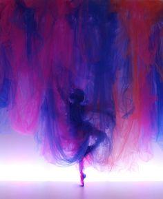 Benjamin Shine, textile figurative art with tulle