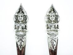 Solid Silver Servers Sterling Pastry Cakes Thai by DartSilverLtd