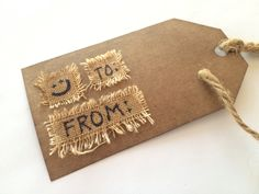 Gift Tag - To/From :)