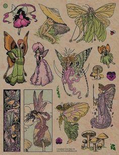 Pretty Art, Cute Art, Art Sketches, Art Drawings, Fantasy Drawings, Arte Sketchbook, Vintage Fairies, Hippie Art, Fairy Art