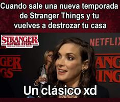 Read from the story Memes de Stranger Things 2 by ( Stranger Things Steve, Stranger Things Netflix, Starnger Things, It Movie 2017 Cast, Saints Memes, Funny Memes, Jokes, I Call You, Read News