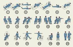 Комплекс упражнений при лечении Паркинсона