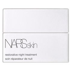 NARS Restorative Night Treatment ($85) ❤ liked on Polyvore featuring beauty products, skincare, face care, fillers, beauty, makeup, white fillers, white and nars cosmetics
