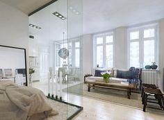 Un appartamento progettato per le esigenze di un single. Guarda il progetto !