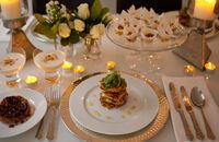 Dinner party recipes including impressive starters, mains and desserts - Recipes - Channel4 - 4Food