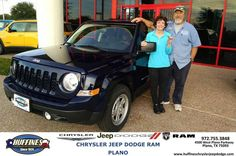 https://flic.kr/p/NDiKYn | Happy Anniversary to Roger & Arlene on your #Jeep #Patriot from Mark Whitmire at Huffines Chrysler Jeep Dodge RAM Plano | deliverymaxx.com/DealerReviews.aspx?DealerCode=PMMM