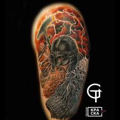 Helmet Tattoo, English Tattoo, Tattoo Photos, Skull, Tattoos, Tatuajes, Tattoo, Tattos, Skulls