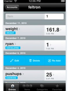 Love infographics? Use the Daytum #app to log weight, workouts, calories, everything to stay on track!