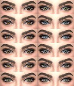 Eyes 03 • non default eyes | face paint; • 12 colors; • custom thumbnails (face paint); Download (non default eyes): mediafire | dropbox Download (face paint): mediafire | dropbox