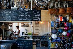 Lock 7 Cycle Cafe, le premier « café vélo »  ouvert à Londres en 2008.