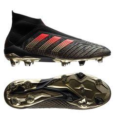 adidas Predator 18+ FG AG Pogba Capsule Collection Season 4 - Black Solar  Red LIMITED EDITION. - football boots c287bf7d0