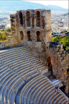 Odeon of Herodes Atticus at the foot of Acropolis